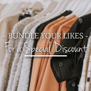 Other - Bundle your likes for a special discount!